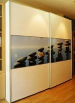 живописни гардероби с принт стъкло гланц