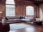 голяма луксозна мека мебел