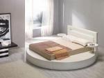 Кръгла спалня с дамаска
