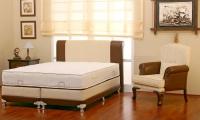 Френско легло с лукс дамаска 120х200 размер